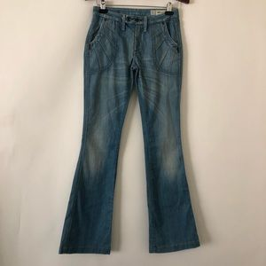 We Are Replay flare vintage inspired jeans
